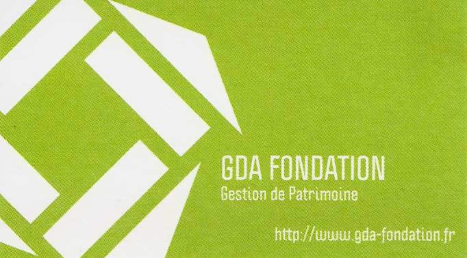 SCI GDA Fondation